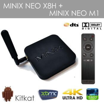Quad Core Minix Media Streamer XBMC ready.